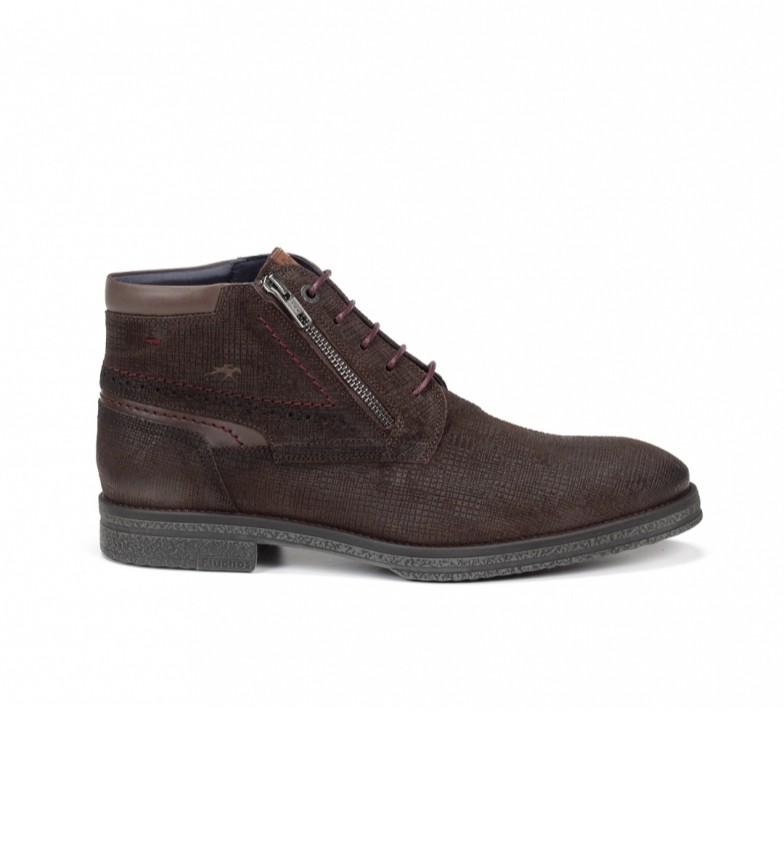 Comprar Fluchos Gamma F0652 botas de couro castanho para tornozelo