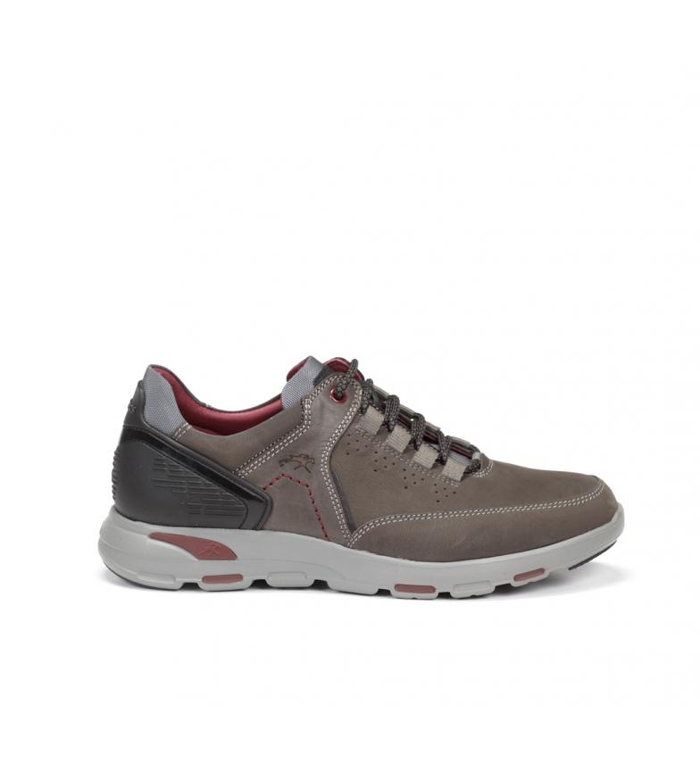 Comprar Fluchos Sapatos de couro Delta F0669 grafite