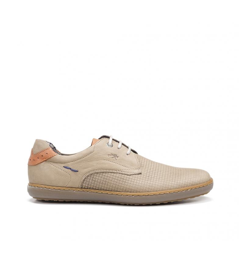 Comprar Fluchos Baskets en cuir Timor F0715 beige
