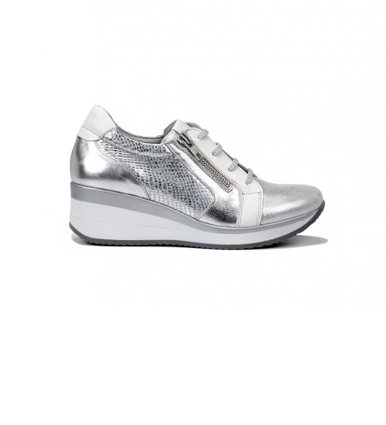 Comprar Fluchos Slippers Plus F0722 Silver Buffalo - Wedge height: 6 cm
