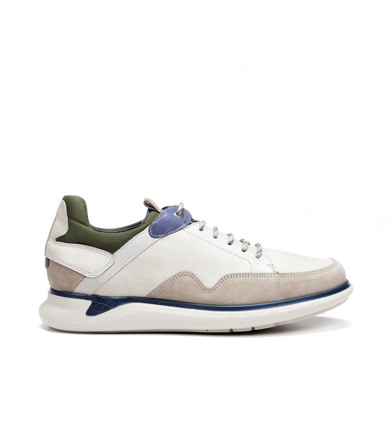 Comprar Fluchos Sapatos de couro Cooper F0742 cinza