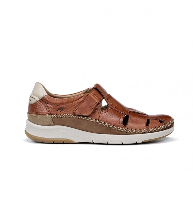 Comprar Fluchos Sandales en cuir Maui F0797 marron