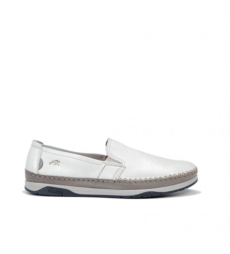 Comprar Fluchos Sapatos de Couro Kendal F0814 branco