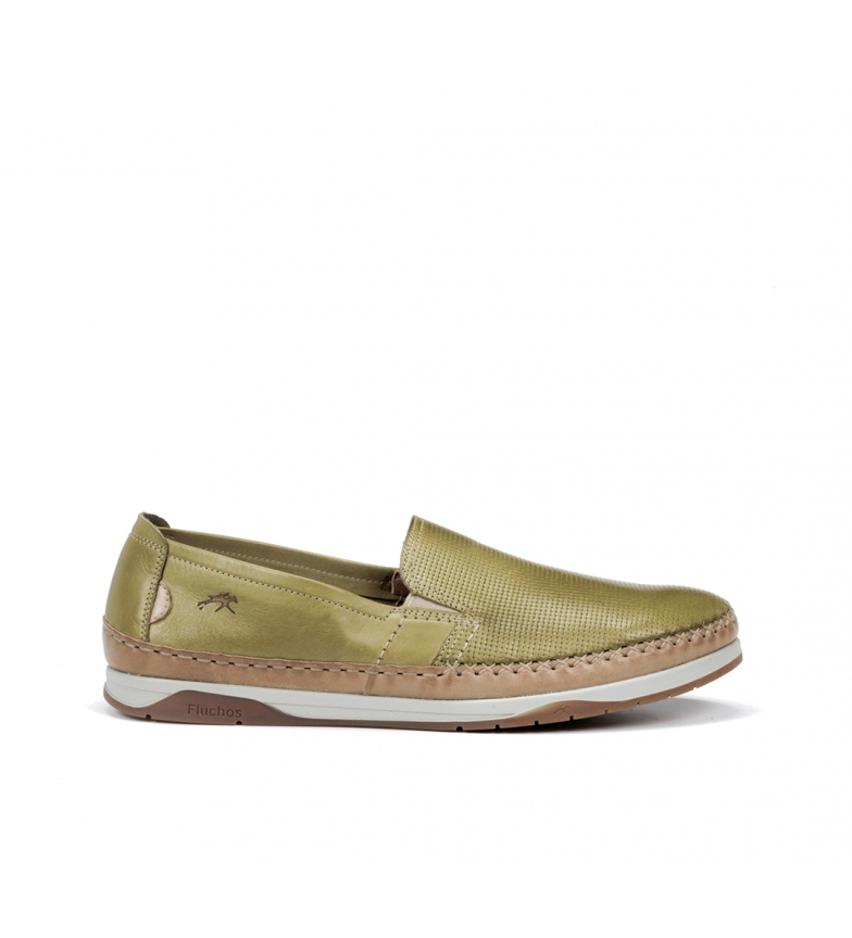 Fluchos Sapatos de Couro Kendal F0814 verde