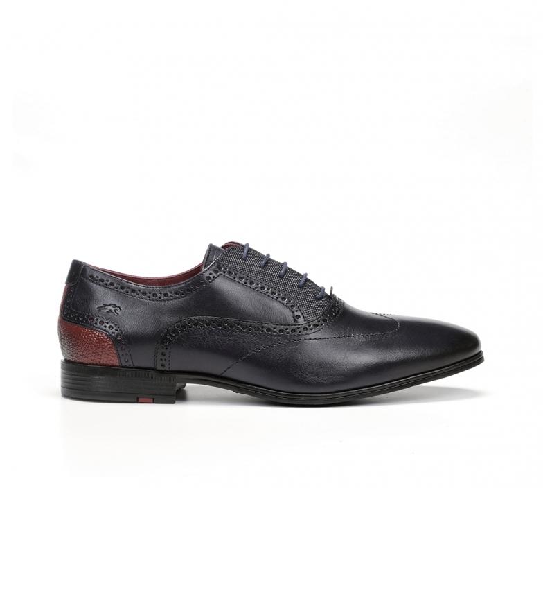 Comprar Fluchos Sapatos de couro Adam F0846 marine