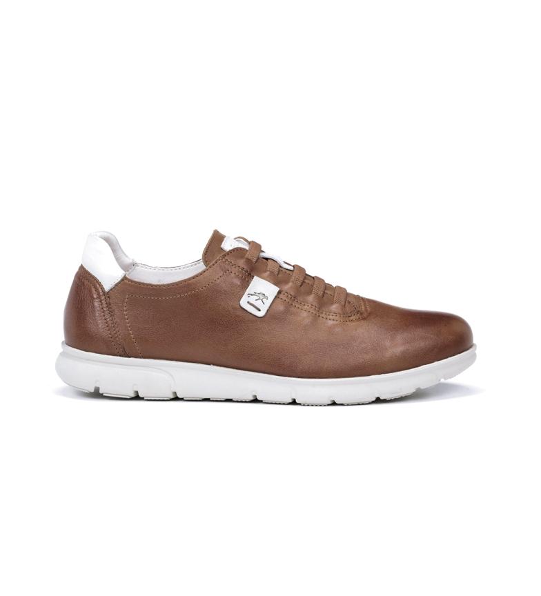 Comprar Fluchos Chaussures en cuir Fer F0848 Samun marron