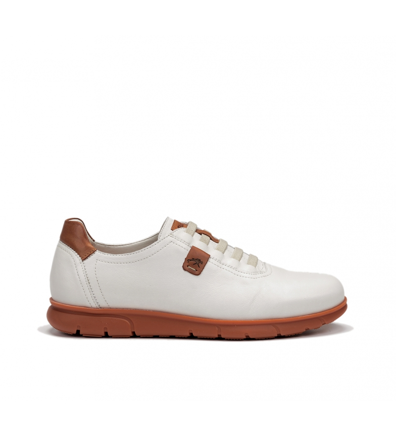 Comprar Fluchos Chaussures en cuir Fer F0848 Samun blanc