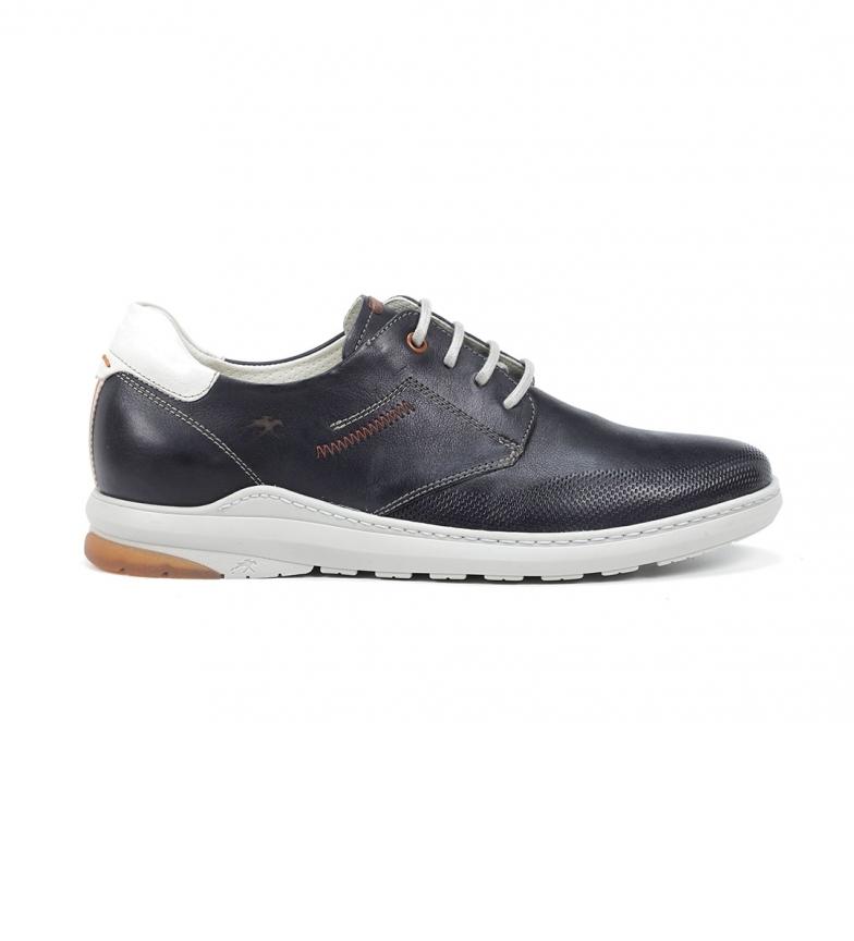 Comprar Fluchos Sneakers en cuir F1159 Gange marine