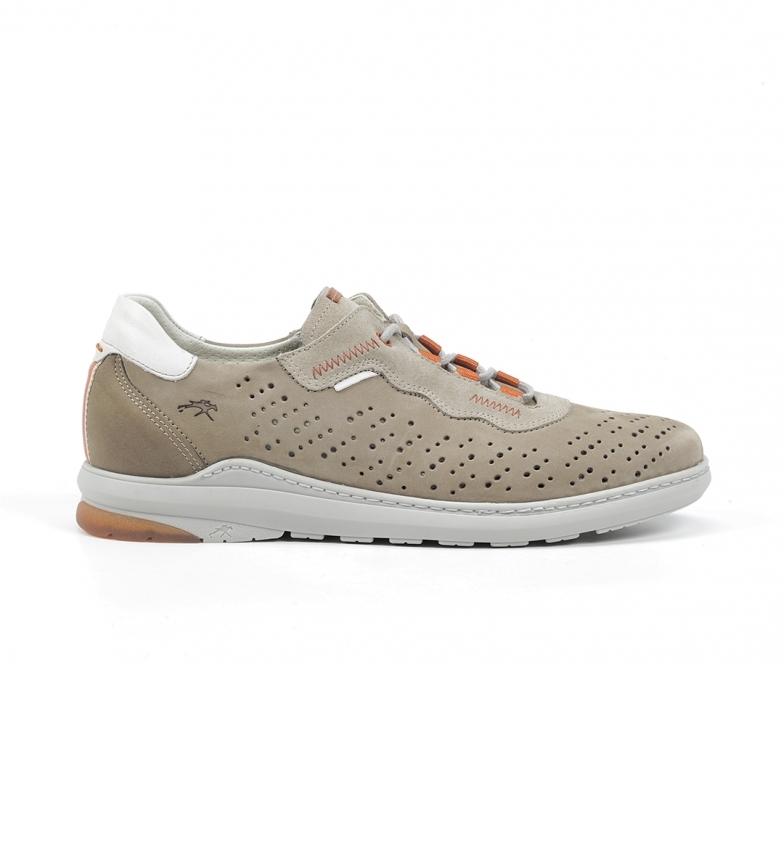 Comprar Fluchos Sapatos de Couro F1161 Delbuck taupe