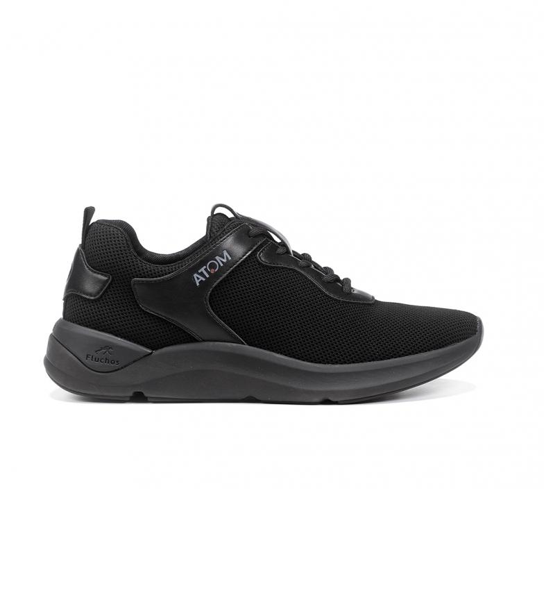 Comprar Fluchos Sneakers en cuir F1251 Activity noir