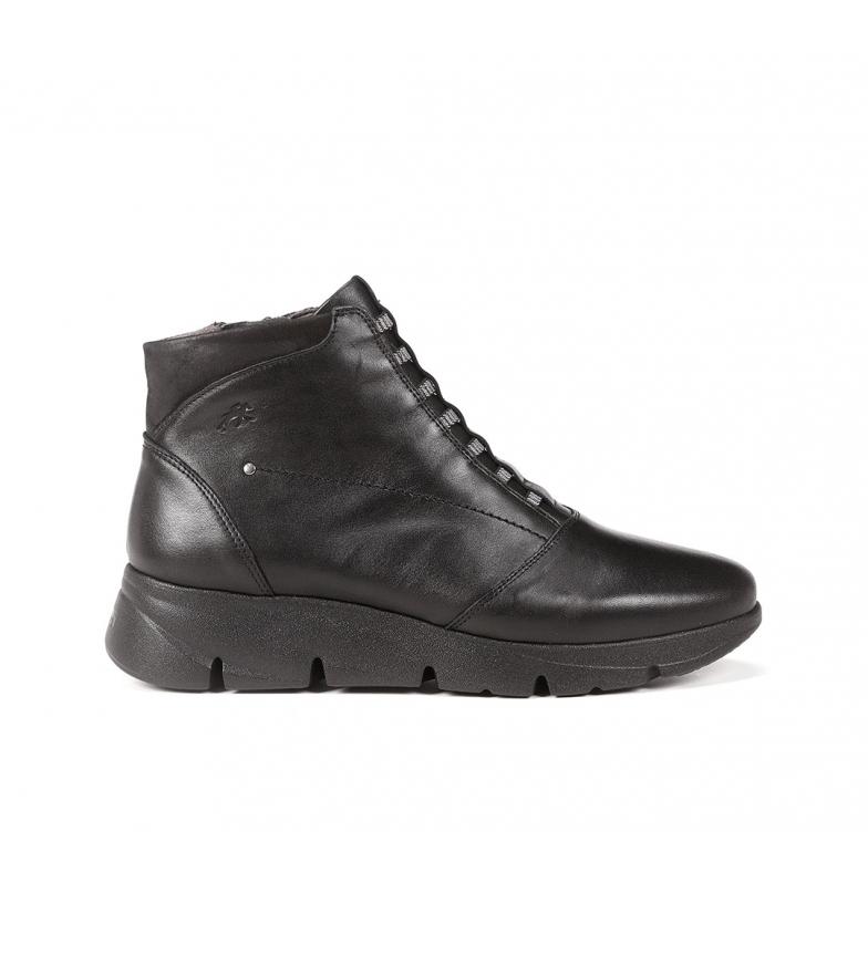 Fluchos Bona F1358 leather ankle boots black