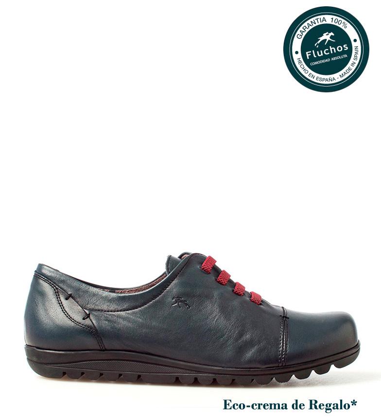 Zapatos marino piel Fluchos Evel de Bn47wq6R