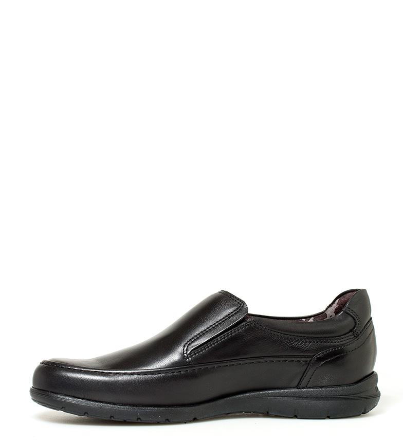 Fluchos Zapatos de piel Luca negro