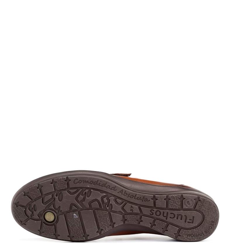 Noa cuña 3cm cuero piel Altura de Fluchos Zapatos xqBP4gWt