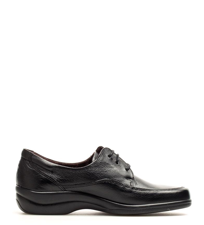 Antialérgico Sanotan negro br piel br Zapatos de Fluchos CwOPAqA