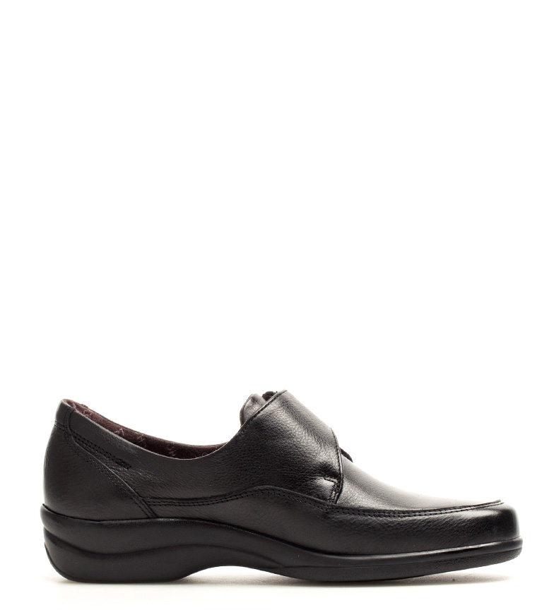 Antialérgico Fluchos Zapatos Fluchos Sanotan Zapatos br piel negro br de FqaO7