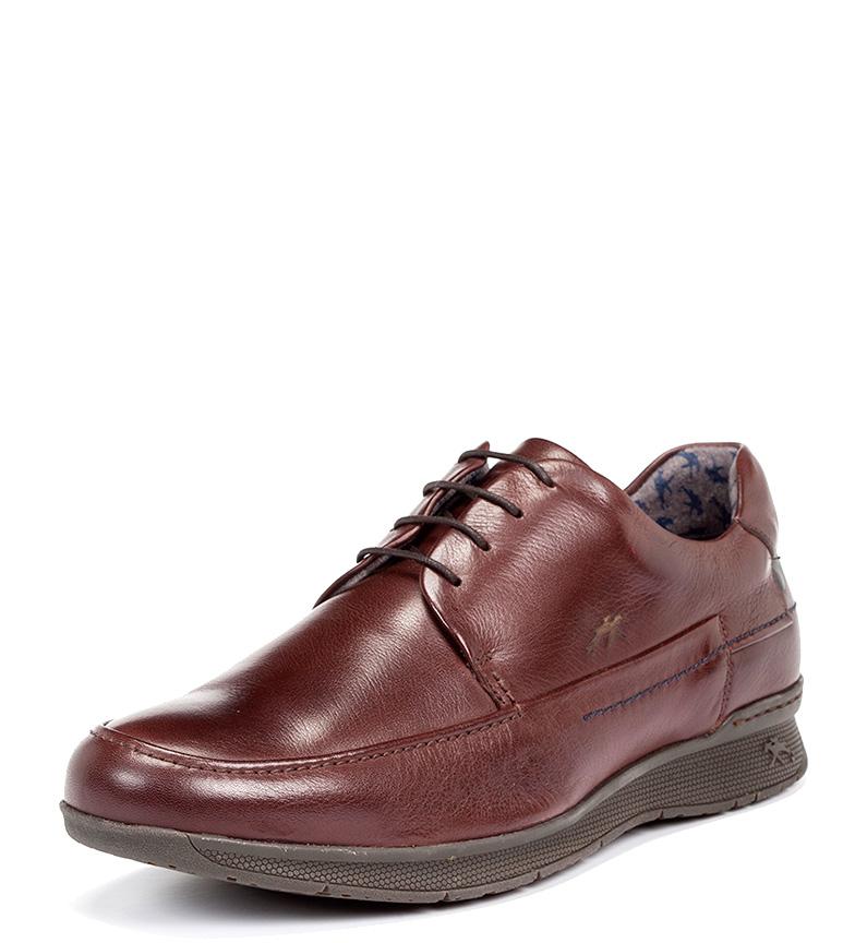 Fluchos Zapatos de piel Tauro brandy