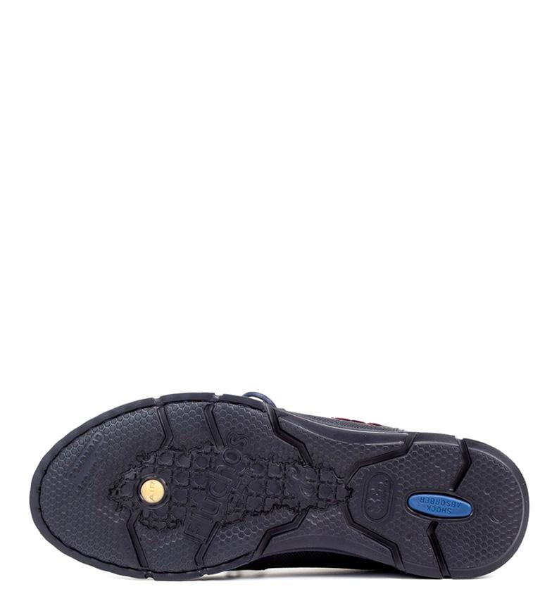 Fluchos Zapatos de piel Tiger marino