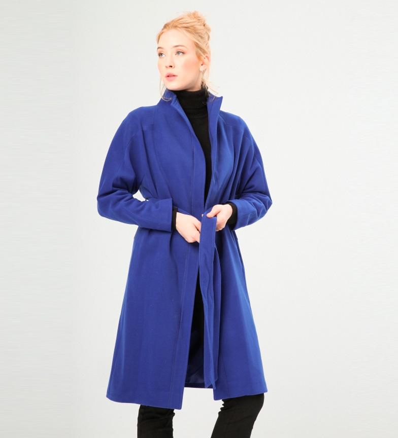 Comprar Fontana 2.0 Manteau bleu Alfonsina
