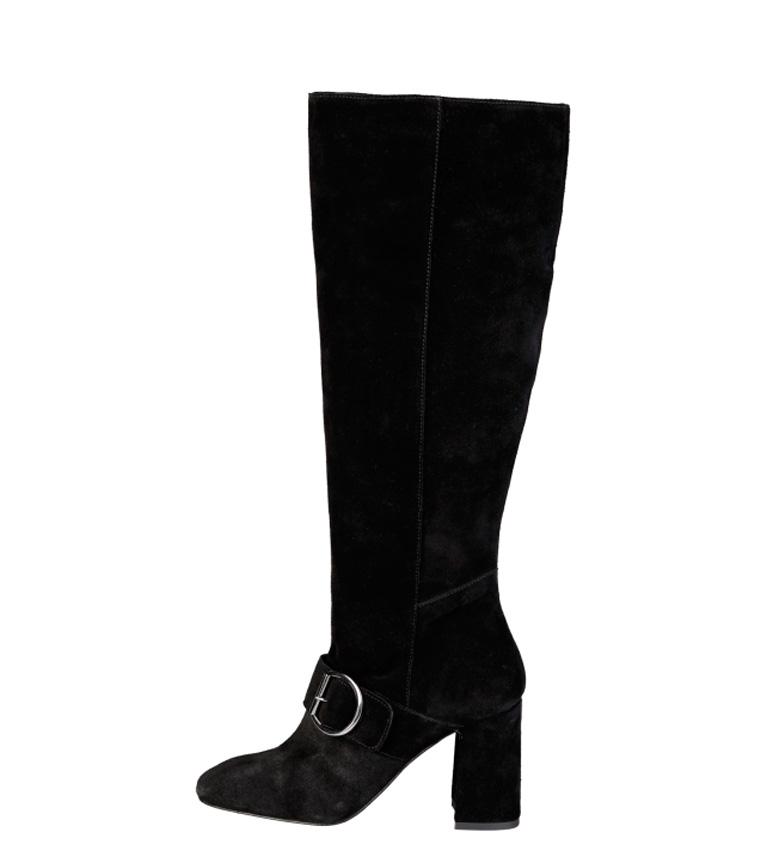 Comprar Fontana 2.0 Bota de piel Romi negro -Altura tacón: 8,5cm-