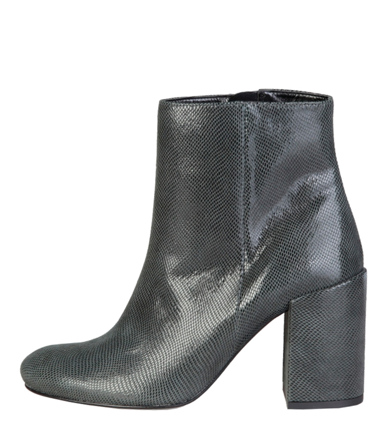 Comprar Fontana 2.0 Alessandra foncé bottes gris talon -Hauteur: 8,5cm-