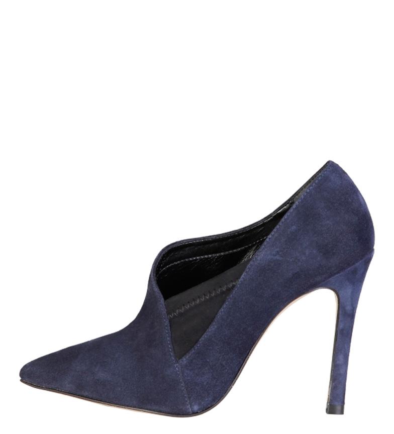 Comprar Fontana 2.0 Zapato de piel Milu azul -Altura tacón: 10,5cm-