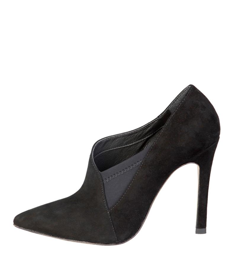 Comprar Fontana 2.0 Black Milu leather shoe -Heel height: 10.5cm-