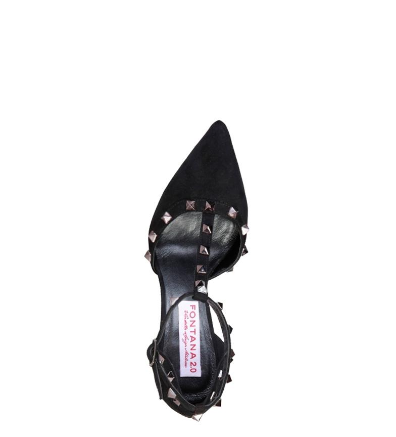 Vicky Zapato Negroaltura 2 0 Tacn10cm Fontana kn0PwO8X