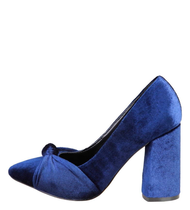 Comprar Fontana 2.0 Blue Giusi Shoes -Heel Heel Height: 9.5cm-