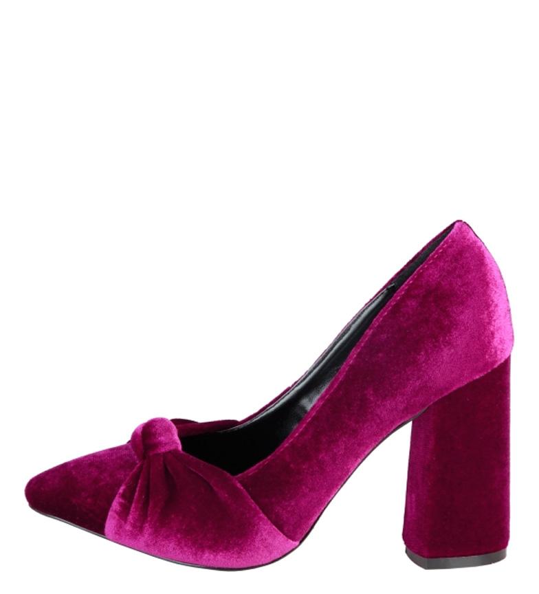 Comprar Fontana 2.0 Giusi chaussures à talons bordeaux -Hauteur: 9,5cm-