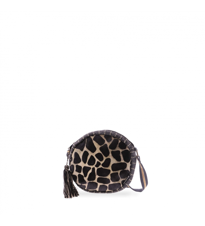 Comprar FOR TIME Cow nico ethnic round shoulder bag -21x6x6 cm