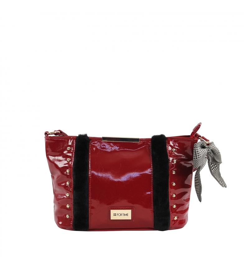 Comprar FOR TIME XL Zurg red shoulder bag -28x20x11 cm