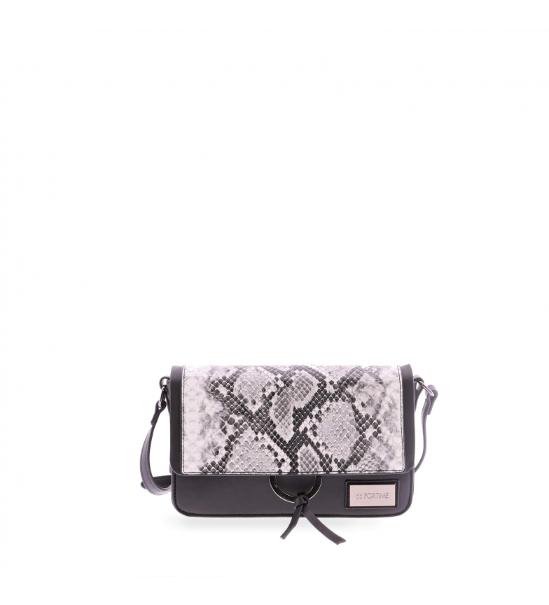 Comprar FOR TIME Jungle shoulder bag black -23x7x16 cm
