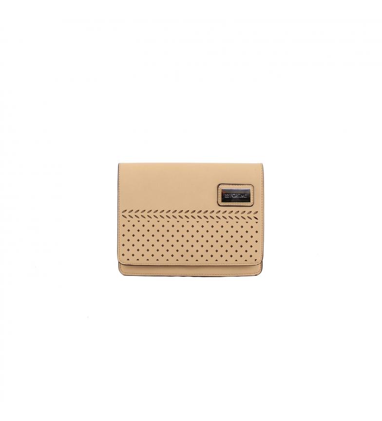 Comprar FOR TIME Khardal beige shoulder bag -21.5x16x6 cm