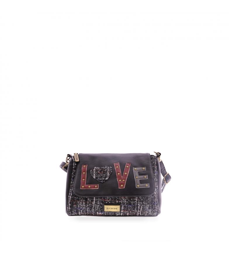 Comprar FOR TIME Sac à bandoulière Love noir -26x10x17 cm