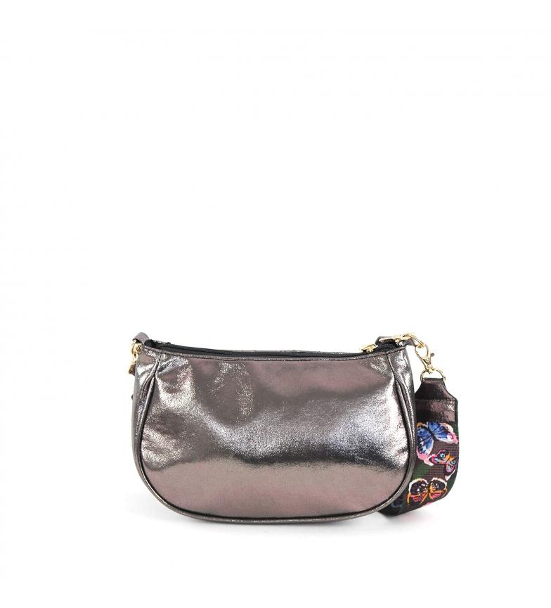 Comprar FOR TIME Bolso bandolera Taysan gris -25x16x8.5 cm-