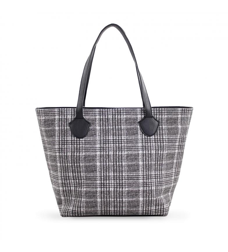 Comprar FOR TIME Sac shopping en tweed -43x28x12 cm-  gris