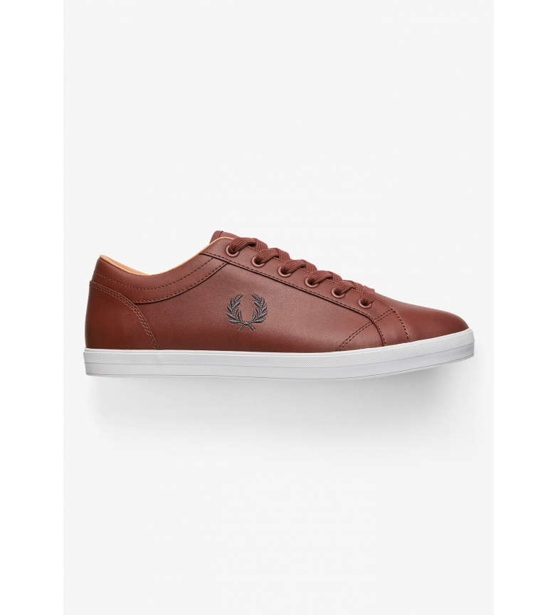 Comprar Fred Perry Brown Baseline leather shoes