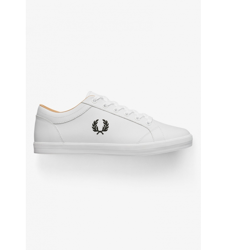 Comprar Fred Perry Baseline leather shoes white