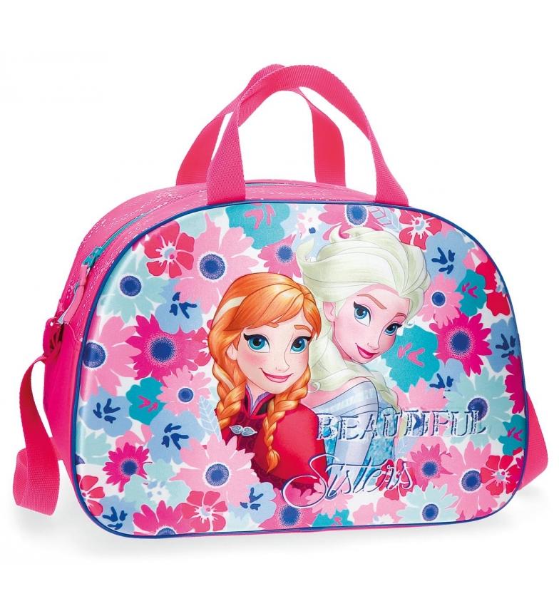 Comprar Frozen Bolsa de viaje Frozen Flowers Frontal 3D -40x28x22cm-