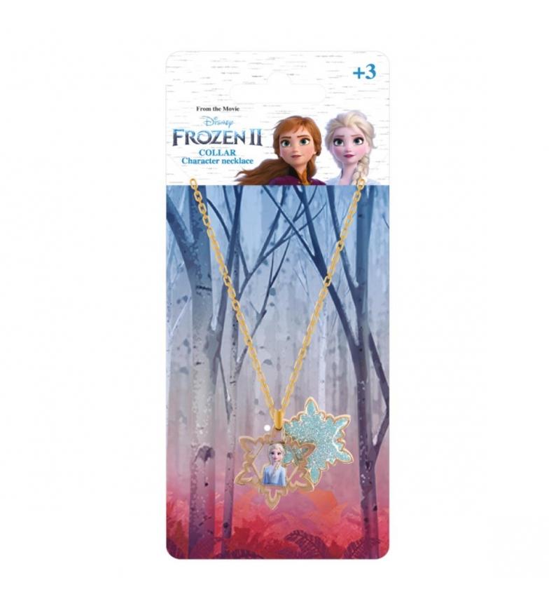 Comprar Frozen Bijoux fantaisie Premium Frozen 2 or, collier bleu