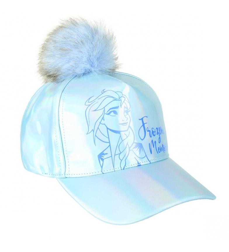 Comprar Frozen Gorra Premium Iridiscente Frozen 2 azul