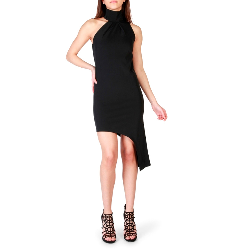 Fruscio Vestido Cedrina negro
