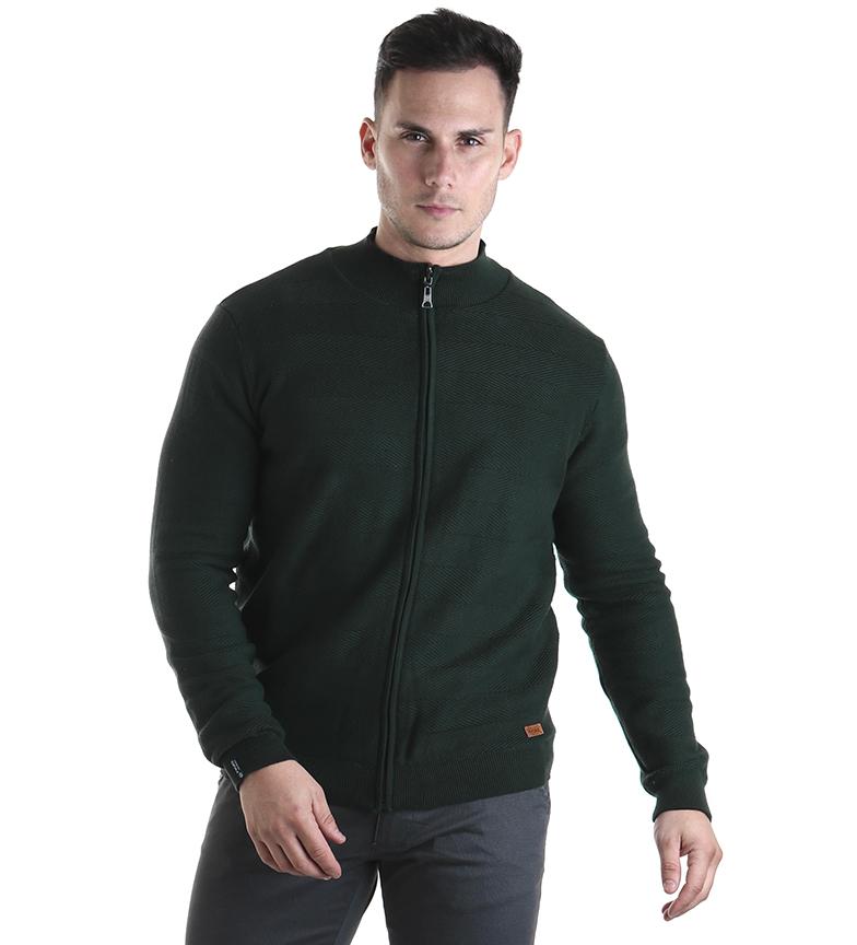 Comprar Fyord Reversible Board jacket green, anthracite