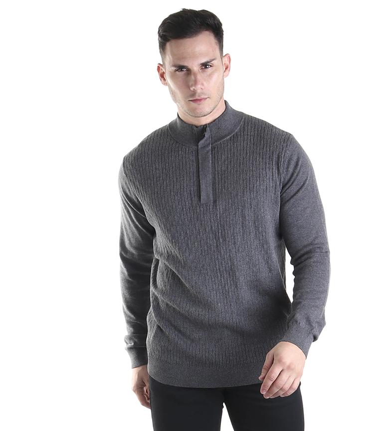 Comprar Fyord Maglione con fiocco grigio
