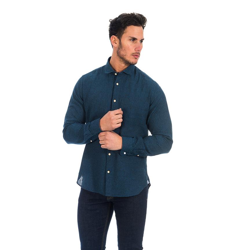 klaring ekte Fyord Mørk Blå Skjorte Alor kjøpe billig footlocker utmerket billig pris stor overraskelse avtaler online saAkJ