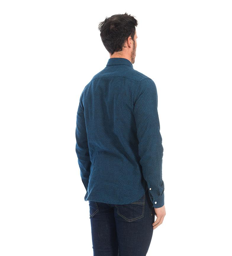 utmerket billig pris klaring ekte Fyord Mørk Blå Skjorte Alor prisene på nettet i2v54igDO7