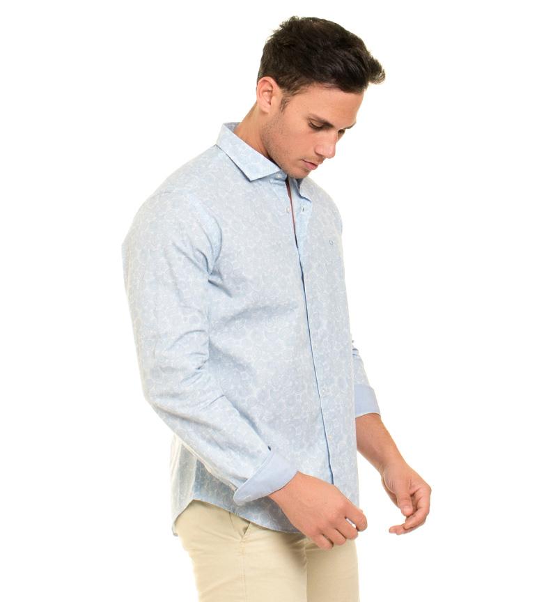 Fyord Camisa Brisbane azul claro