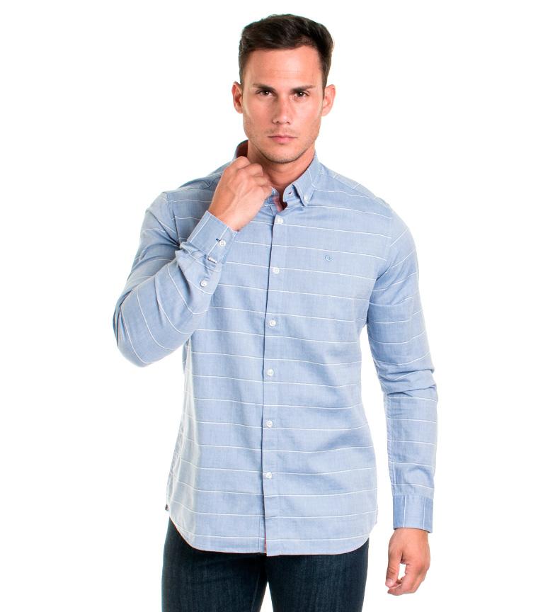 Comprar Fyord Fraser camicia blu