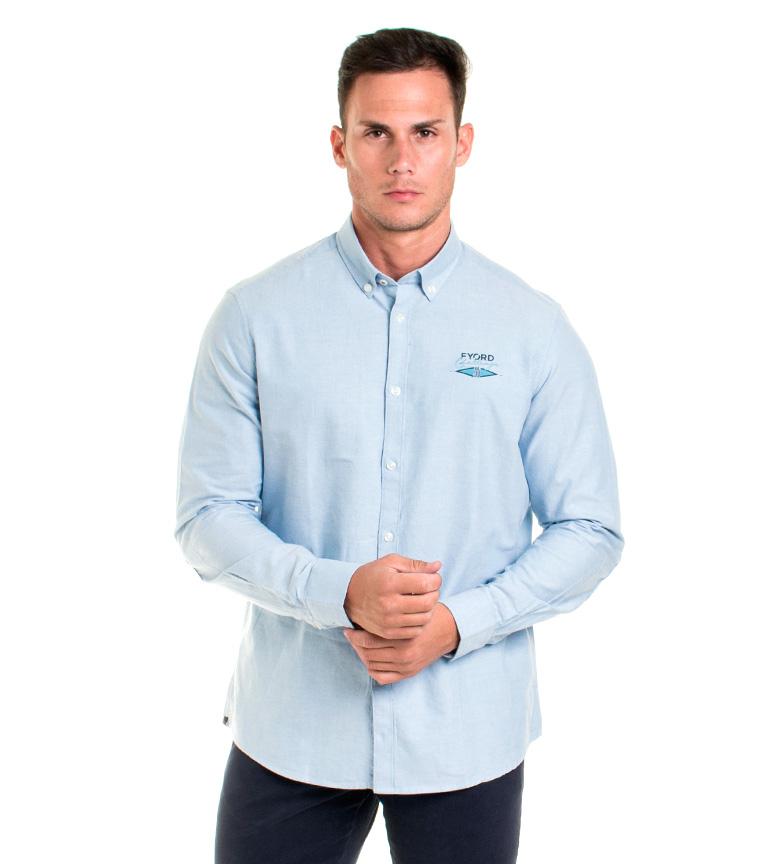Comprar Fyord Irwin Shirt celeste